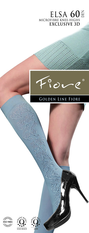 Elsa Patterned Knee-Highs